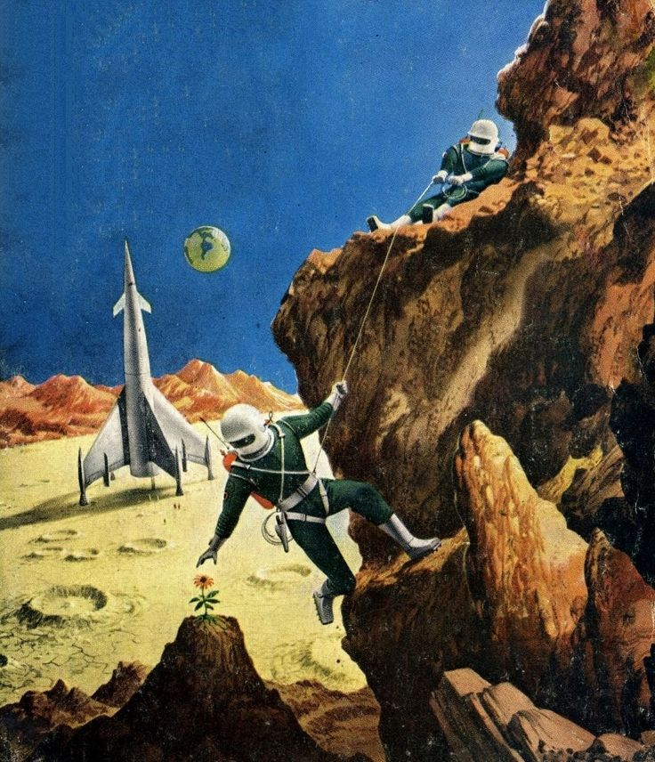 Vintage Sci Fi Art Added A New Photo: 17 Best Images About Vintage Space On Pinterest