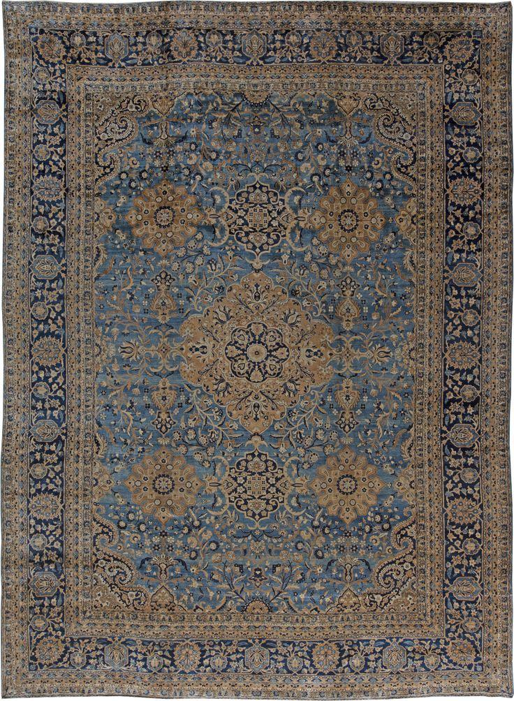 Antique Persian Kirman Rug Bb0769 By Doris Leslie Blau