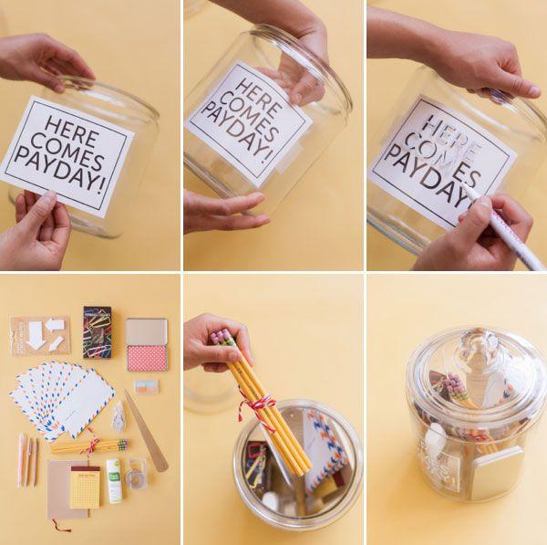 Crea tu propio jarro para artículos de oficina