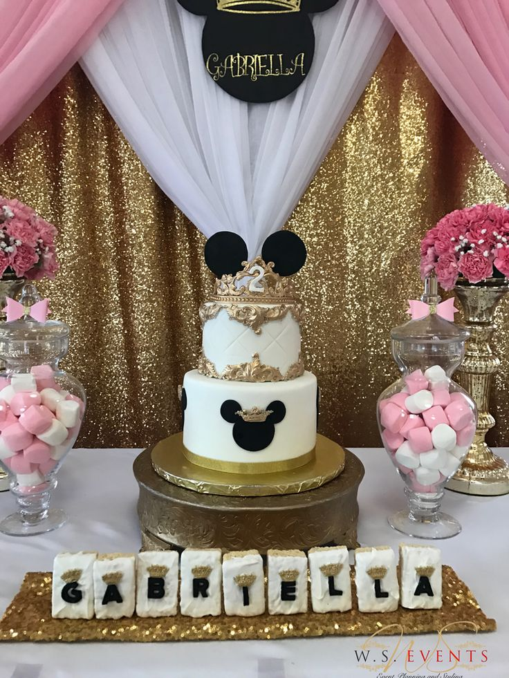 Minnie Mouse Birthday Party Ideas In 2019 Soiree Party