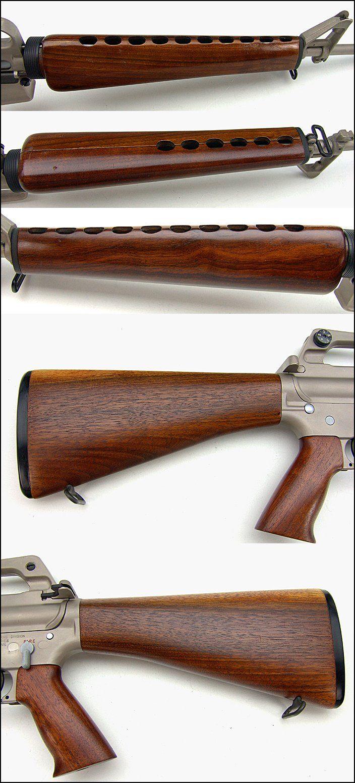 Black Guns Wood AR-15 Wood Stock Sets