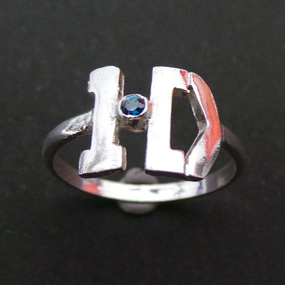 ID One Direction Ring Directioner Harry Style Jewelry by yhtanaff, $35.00 #onedirection @Harry Styles @Harpreet Singh http://www.artfire.com/ext/shop/product_view/yhtanaff/10811399/id_one_direction_ring_-_directioner_harry_style_jewelry/handmade/jewelry/rings/sterling
