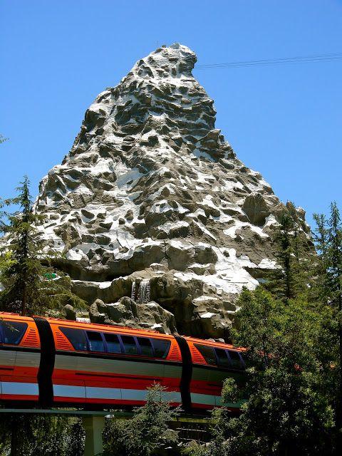 The matterhorn bobsleds attraction opened at disneyland on june 14, 1959. Matterhorn Disneyland Photos Disneyland Pictures Matterhorn