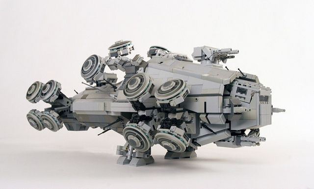 Is there no limit to the awesomeness of LEGO?! Matrix Hovership: Novalis | Flickr - Photo Sharing!