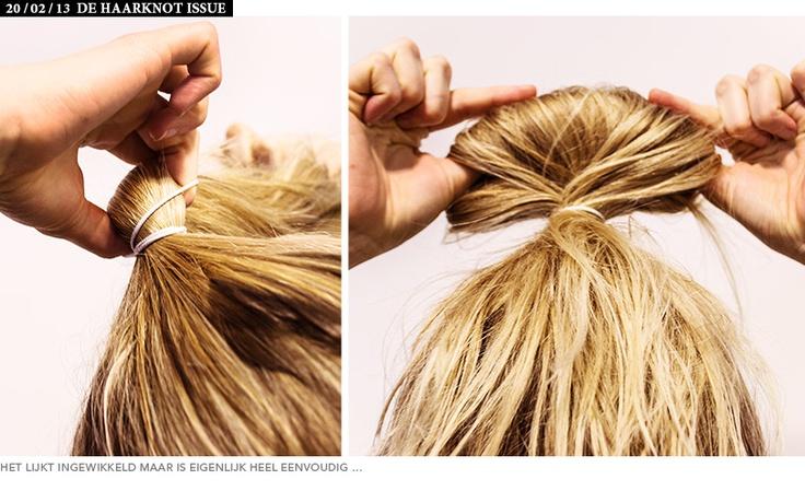 De Zalando haarknot   News & Style