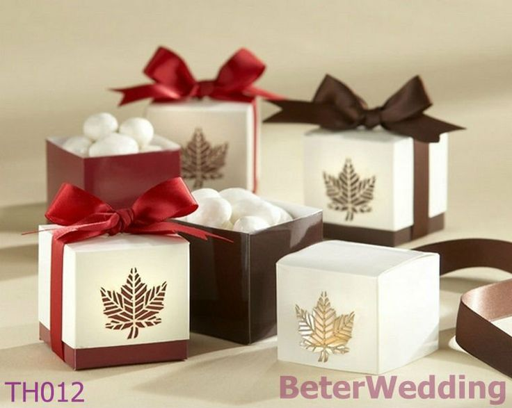 96pcs Laser Cut Fall maple Leafs Favor Box TH012 use for Wedding Decoration, party Gift, event Souvenir, wedding candy bags on AliExpress.com. $36.00 #weddingfavors, #babyshowerfavors, #Thank you gifts #weddingdecoration #jars #weddinggifts #birthdaygift #valentinesgifts #partygifts #partyfavors #novelties