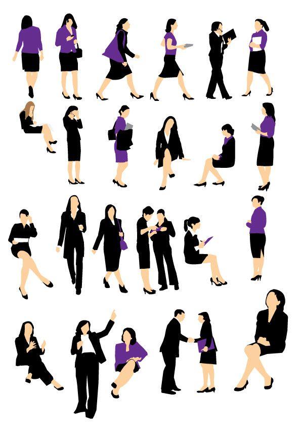 Ms de 25 ideas increbles sobre Siluetas de personas en Pinterest