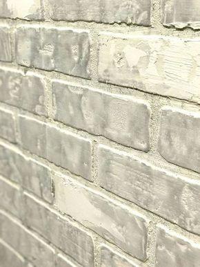 Create Faux Brick Wall Using Inexpensive Paneling Home Renovation Remodeling Veneer