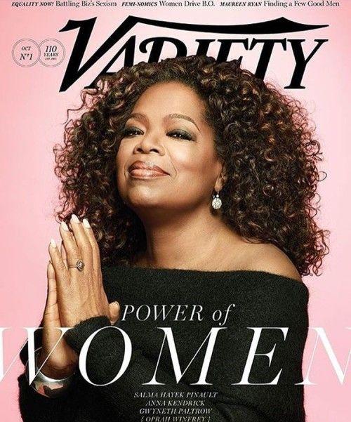 Snapshot: Oprah Winfrey for Variety Magazine   The Fashion Bomb Blog   Bloglovin
