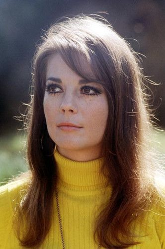 Natalie Wood's Perfect side-swept bangs.