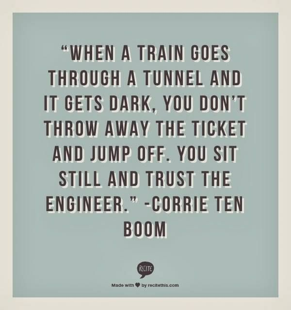 This is my most pinned pin and one of my all time favorite quotes by one of my all time favorite and inspirational people. #CorrieTenBoom
