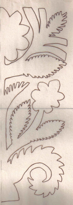 Wycinanki pattern / Szablony do wycinanek