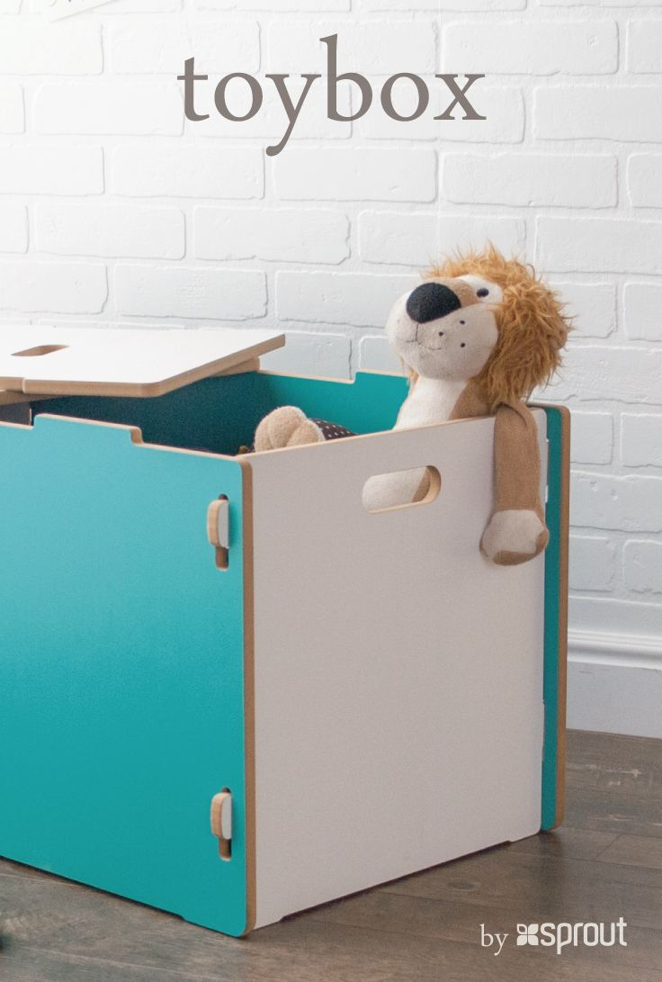 best kid storage ideas images on pinterest  storage ideas  - modern toy box