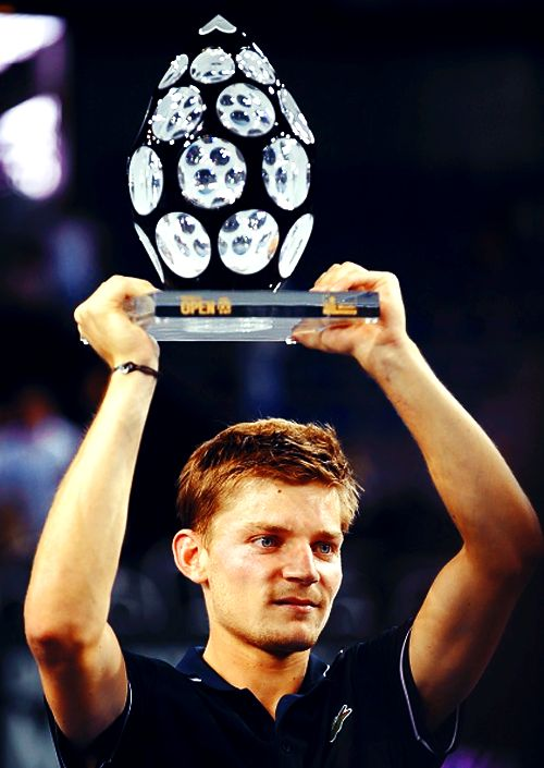 2014 Moselle Open Champion; David Goffin