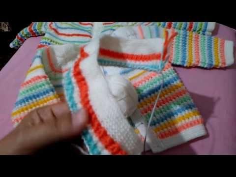 Erkek Bebek Hırkası Timsah Sırtı Modeli..(detaylı anlatım) - YouTube