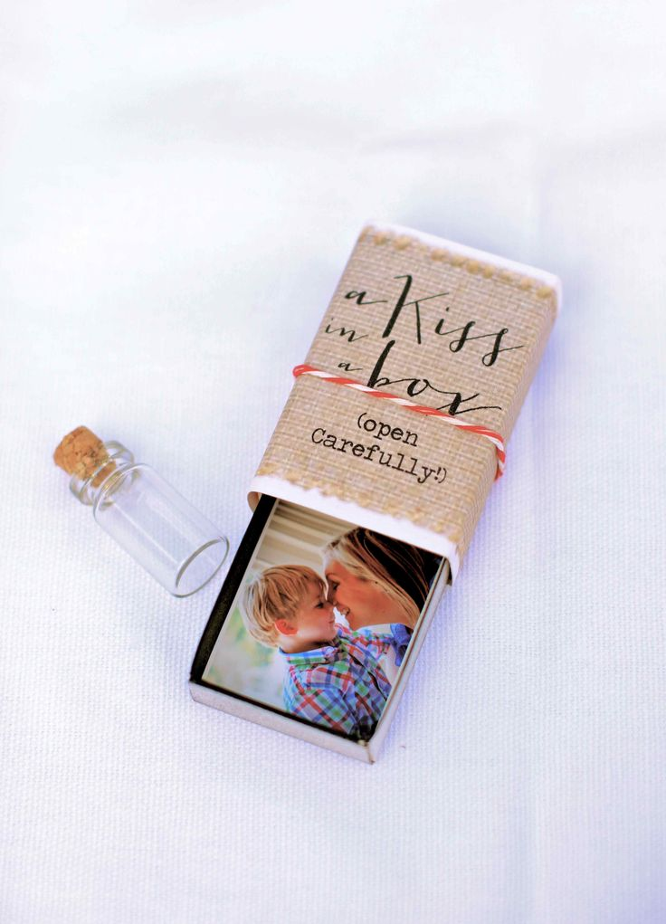 """Valentine's Day Altered Matchbox """"Kiss In A Box"""" by katescreativespace"""