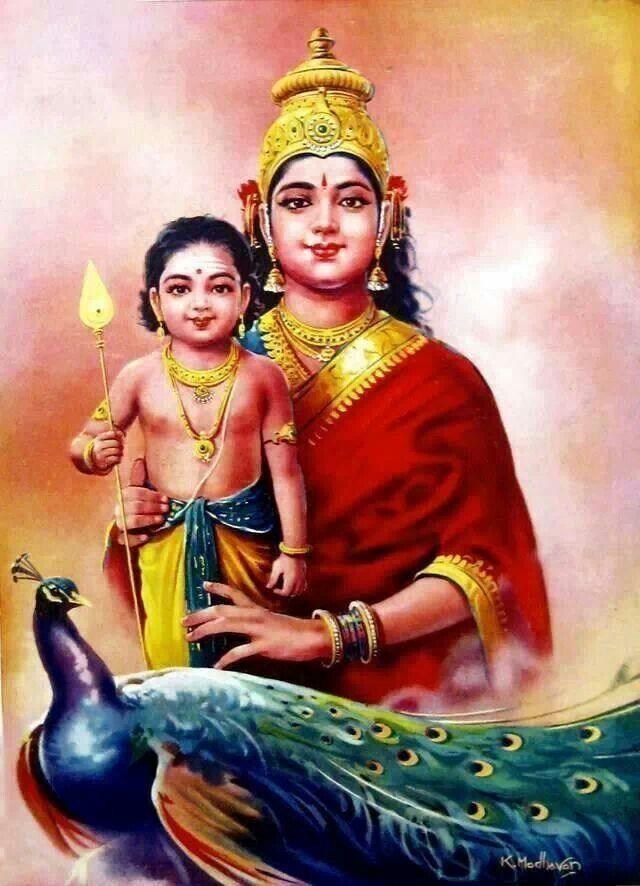 Kartekya and mata Parvati