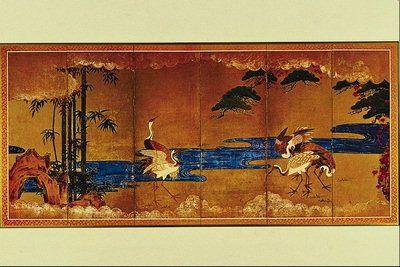 Картина с изображением птиц