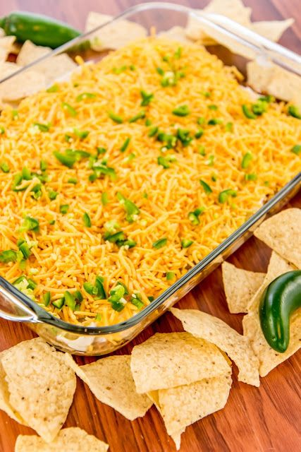 Warm Bean Dip - The Country Cook