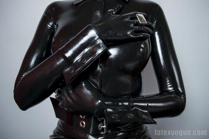 Latex #classy #blouse in our favorite black color :) . . . #latexvogue #latexblouse #frenchcuffs #blacklatex #latexdesigner #fetishfashion #latexwear #latexgloves #rubberbelts #blousemurah #latextop #latexmodel #shiny #totalyenclosure #fetish #latex #latexwithsnaps #elegant #stylish #couture #elegance #chic