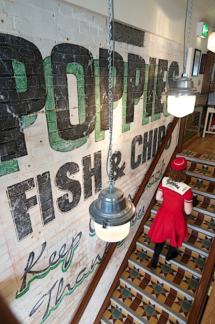 Poppie's impressive British memorabilia and authentic fish and chips represent the history of London, all while giving off a retro 1950s vibe. What says London cuisine more than fish and chips?