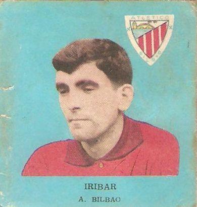 Iríbar. Athletic Club de Bilbao. 1962.63.