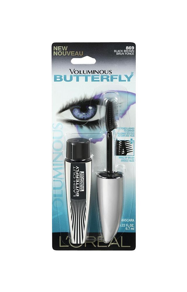 25f7186f39f Voluminous Butterfly Mascara - Black Brown   Products I Love   Brown ...
