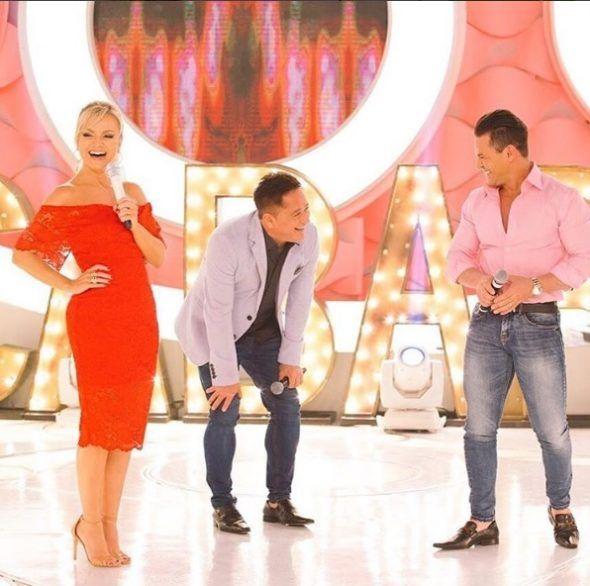 """Eliana recebe Leonardo e Eduardo Costa que cantam as músicas do álbum """"Cabaré 2"""""""