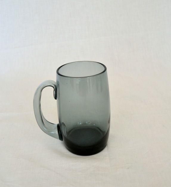 ølseidler, grå - Designet av Willy Johansson for Hadeland Glassverk