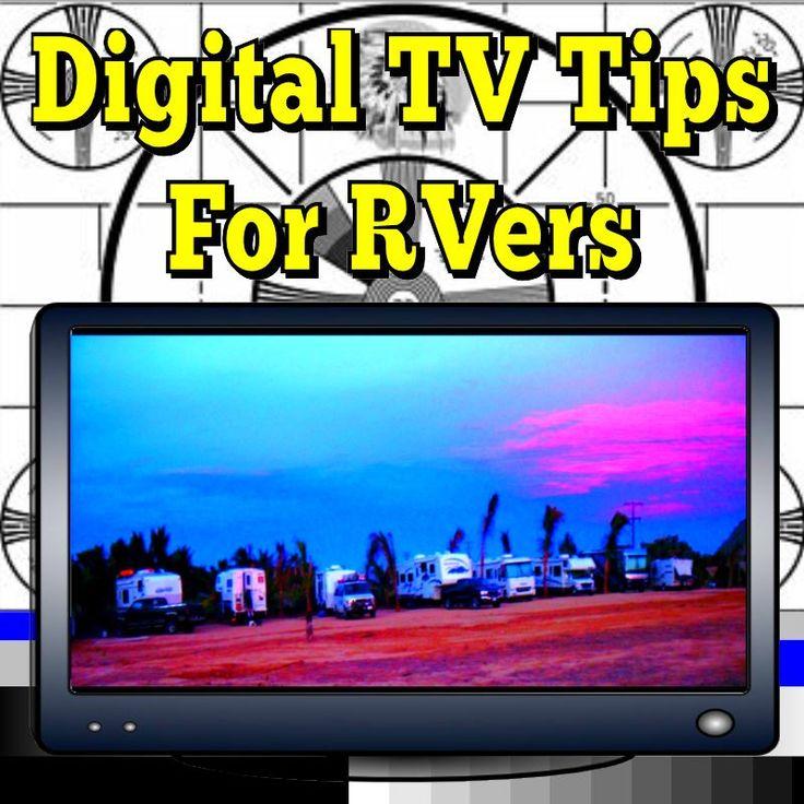 Digital TV Tips For RVers