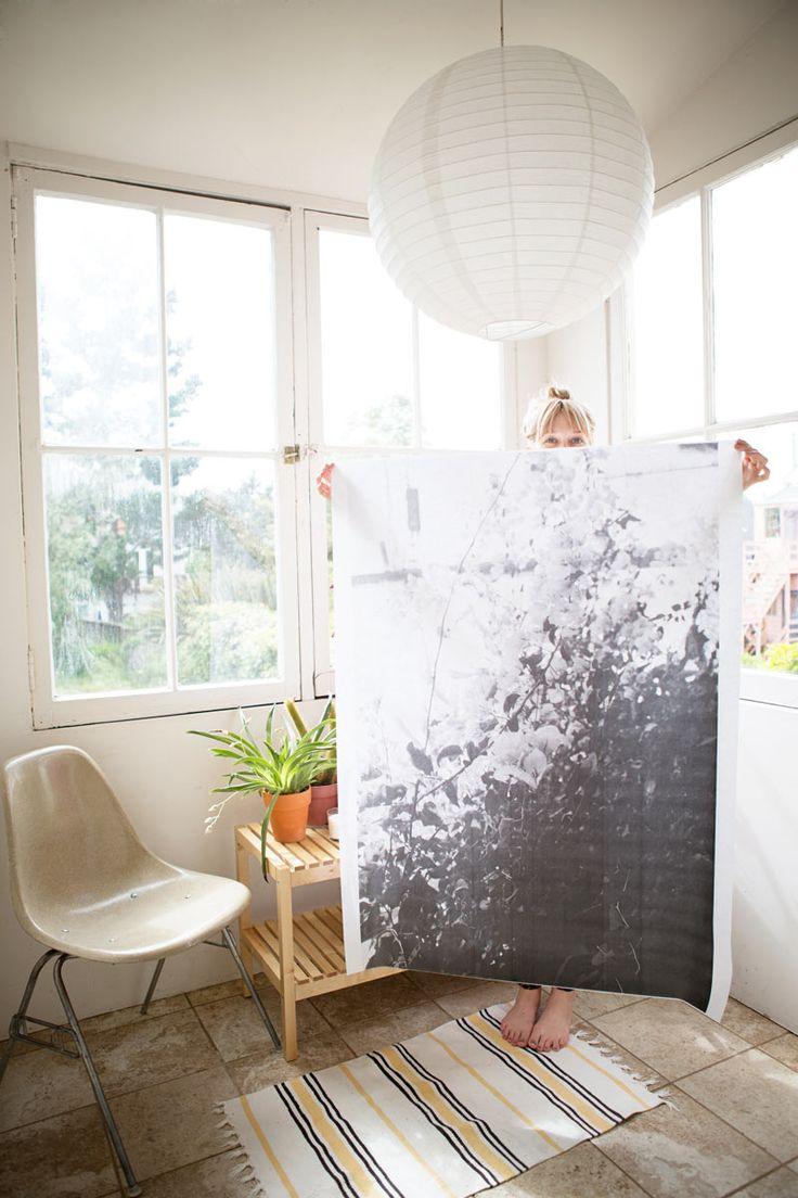 Your photos printed super big by Photojojo.  http://photojojo.com/engineerprints