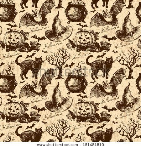 273 best Halloween papier images on Pinterest | Scrapbook paper ...