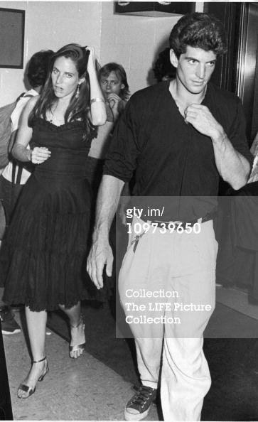 jfk jr and christina haag   JFK Jr. & Christina Haag : News Photo