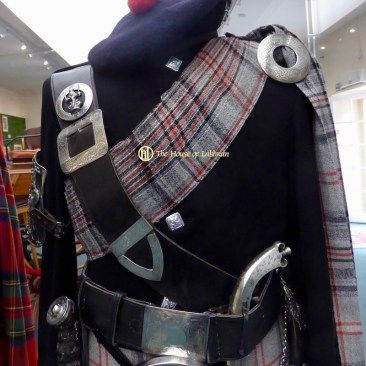 Queens Piper - Balmoral Highlanders Uniform