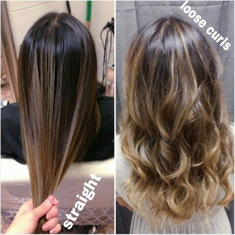 1000 Images About Long Bob And Ash Brown Ombre Balayage