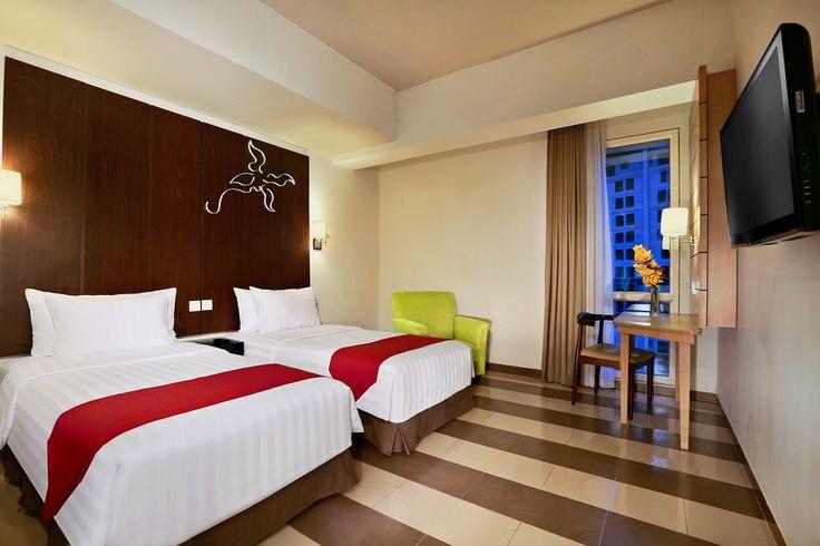 Superior room - Twin bed - Atria Hotel Gading Serpong