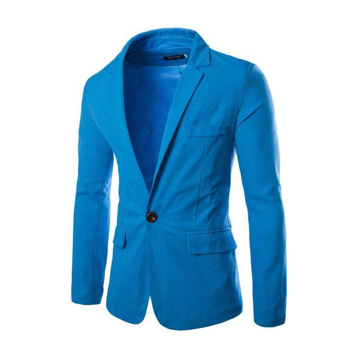 2017 Men's Cotton Casual Slim fit Blazers Coats.,$47.95,https://www.romexnewyork.com/products/2017-mens-cotton-casual-slim-fit-blazers-coats?utm_campaign=outfy_sm_1504580589_990&utm_medium=socialmedia_post&utm_source=pinterest #me #Fashion #art #summer #followme #tbt #instagram #Love #like4like #instagood https://www.romexnewyork.com