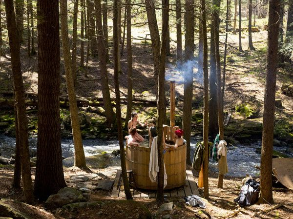 Beaver Brook Wood Fired Hot Tub