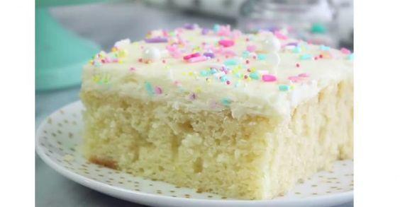 La meilleure recette de gâteau blanc maison