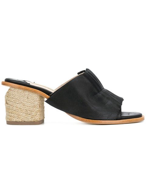 sale retailer 11891 cb965 Shop Paloma Barceló Pipana pleated mules | Shoes | Heeled ...
