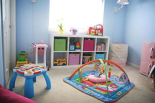 playroom for toddler/baby