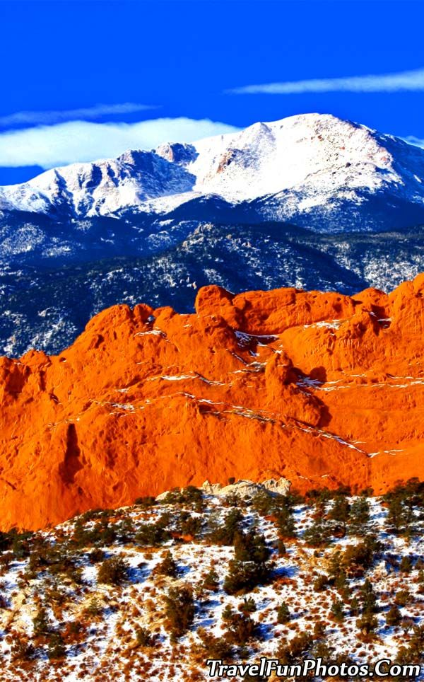 Pikes Peak - Colorado Springs, Colorado. Go to www.YourTravelVideos.com or just click on photo for home videos and much more on sites like this.