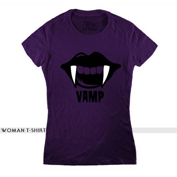 VAMP T-SHIRT purple t-shirt, vampire t-shirt, horror tee, twilight, vampire diaries, dracula, penny dreadful, demons, true blood