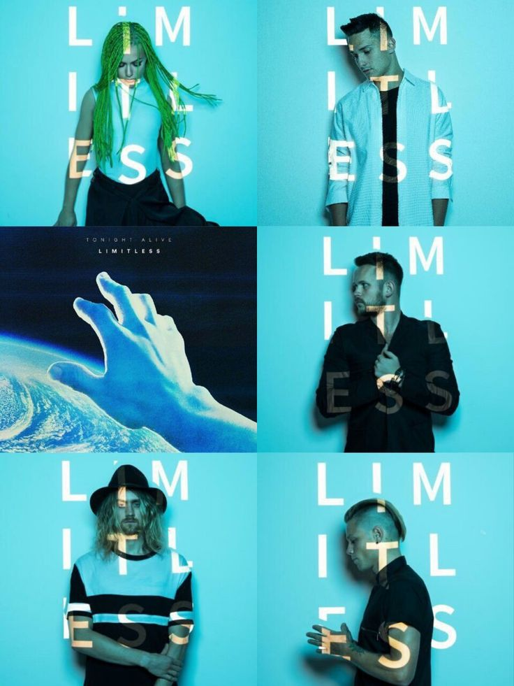 tonight alive limitless. So excited for this new album