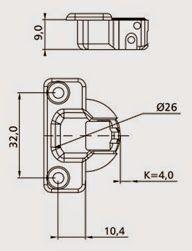 Dobradiças de Caneca (Parte II): Tipos de calços, aplicações e regulagem na montagem de móveis ~ Montagem de Móveis POM: (011) 4118-6437 São Paulo SP Brasil