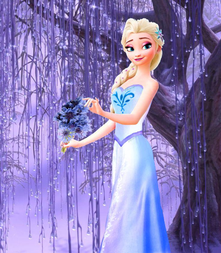 картинки с эльзой из холодного сердца на аватарку