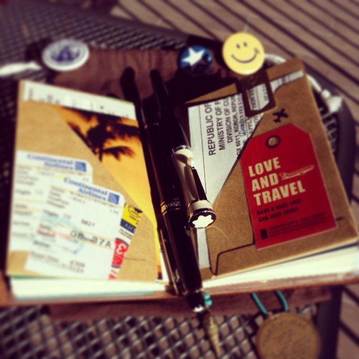 「奇跡に溢れる日々を詰め込んでいきます★」 | TRAVELER'S notebook みんなの投稿 - MIDORI