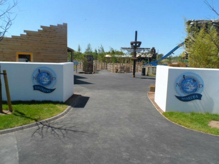 Neverland at Oakwood Theme Park, Narberth, Pembrokeshire