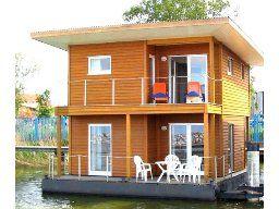 Hausboot für 6 Pers. in Barth am Barther Bodden an der mecklenburgischen Ostseeküste.