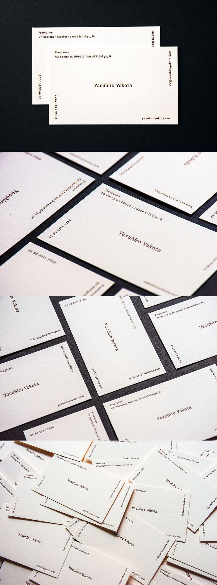 Personal Branding - Yasuhiro Yokota #businesscardmaker